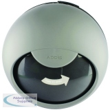 Addis Smart Round Bin Lid Metallic 503583