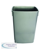 Addis Grey 54 Litre Recycling Bin Kit Base Metallic (3 Pack) 505574
