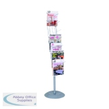 Alba Floor-Standing 7-Pocket Literature/Magazine Display DD7S