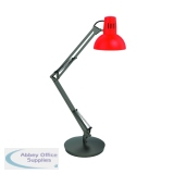 Alba Architect LED Desk Lamp Red ARCHICOLOR R1