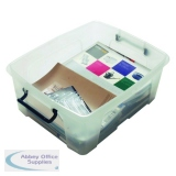 Strata 24L Smart Box with Lid Clear HW673