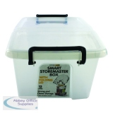 Strata 12L Smart Box with Lid Clear HW671