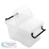 Strata 6L Smart Box with Lid Clear HW670