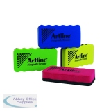 Artline Smiley Whiteboard Eraser Assorted (4 Pack) ERT-MMS-GB4