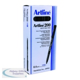 Artline 200 Green Fineliner Pen (12 Pack) EK200GR