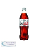 Diet Coke 500ml Bottle (24 Pack) 100187