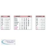 At-A-Glance Refill For 3 Month View Calendar 2020 3SR20