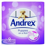 Andrex Puppies on a Roll Toilet Roll (9 Pack) 4978748