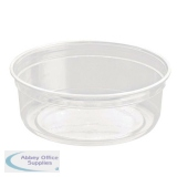 Caterpack Biodegradable rPET DeliGourmet Food Container 8oz (Pack of 50) RY10579 / DM8R