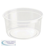 Caterpack Biodegradable rPET DeliGourmet Food Container 12oz (50 Pack)  RY10580 / DM12R