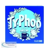 Typhoo Decaf Teabags (80 Pack) A08107
