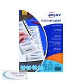 Avery 10-Part Index Maker Divider Punched A4 White 01812061