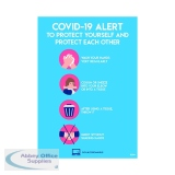 Avery Virus Prevention Label 420x297mm A3 (2 Pack) COVVPA3
