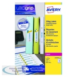 Avery Ring Binder Label 25 Sheet 100 x 30mm L7172
