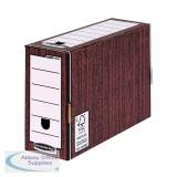 Bankers Box Woodgrain Premium Transfer Files (10 Pack) 0005302
