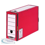 Fellowes Bankers Box Red/White Premium Transfer File (10 Pack) 0005802