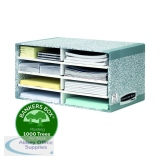 Bankers Box System Desktop Sorter Grey (5 Pack) 08750
