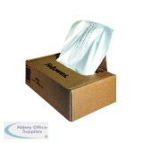 Fellowes Clear Shredder Bags C-385/C-485 (50 Pack) 36055