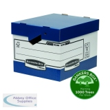 Fellowes Bankers Box Heavy Duty Grey and White Ergo Box (10 Pack) 0089901