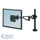 Fellowes Smart Suites Black Flat Panel Monitor Arm 8038201