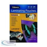 Fellowes A4 Laminating Pouch 160 Micron (100 Pack) 55306101