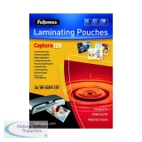 Fellowes A4 Capture Laminating Pouch 250 Micron (100 Pack) 55307401