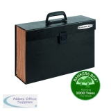 Fellowes Bankers Box Expanding Handifile Black 9351501