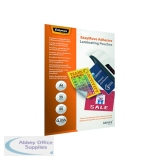 Fellowes Admire EasyMove Adhesive A4 Laminating Pouches 160 Micron (25 Pack) 5601701