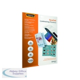 Fellowes Admire EasyFold A4 Laminating Pouches 160 Micron (25 Pack) 5601901