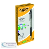 Bic Black Atlantis Mechanical Pencil 0.7mm (12 Pack) 8206462