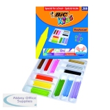 Bic Kids Plastidecor Crayons Assorted (288 Pack) 887835