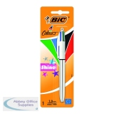BIC 4 Colours Shine Blister (10 Pack) 907906