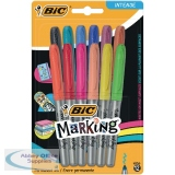Bic Fine Colour Intense Assorted Permanent Markers 943163