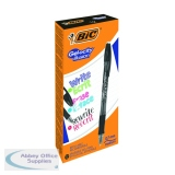 Bic Gel-ocity Illusion Erasable Pen Medium Black (12 Pack) 943441
