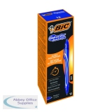 Bic Gel-ocity Quick Dry Gel Pen Medium Blue (12 Pack) 950442