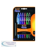 Bic 4 Colours Grip Pro Retractable Ballpoint Pen (12 Pack) 892293