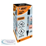 Bic Marking PRO Permanent Marker Black (12 Pack) 964800