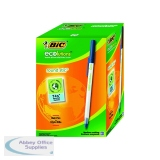 Bic Ecolutions Medium Ballpoint Blue Pen (60 Pack) 893240