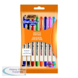 Bic Gelocity Gel Ink Pens 0.5mm Assorted (8 Pack) 992602