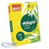 Adagio Intense Yellow Coloured Card 160gsm A4 (250 Pack) 201.1227