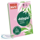 Adagio Pastel Assorted A4 Coloured Card 160gsm (250 Pack) AMP2116