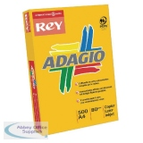 Adagio Bright Assorted A4 Coloured Card 160gsm (250 Pack) 201.2000