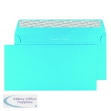DL Wallet Envelope Peel and Seal 120gsm Cocktail Blue (250 Pack) 209