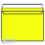 Banana Yellow C4 Wallet Envelope Peel and Seal 120gsm (250 Pack) BLK93023
