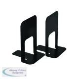Large Deluxe Bookends Black One Pair (2 Pack) BLO06914