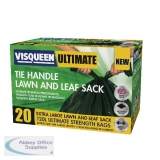Visqueen Ultimate Green Tie Handle Lawn and Leaf Sack 120 Litre RS057772