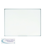 Bi-Office Earth Non-Magnetic Melamine Drywipe Board 900x600mm MA0300790