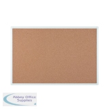 Bi-Office Antimicrobial Cork Board 1800x1200mm BCA271226
