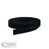 Bi-Office Black Magnetic Tape 10mmx5m FM01015