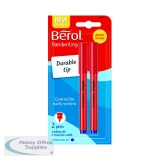 Berol Handwriting Blue Pen Blister Card (24 Pack) S0672920